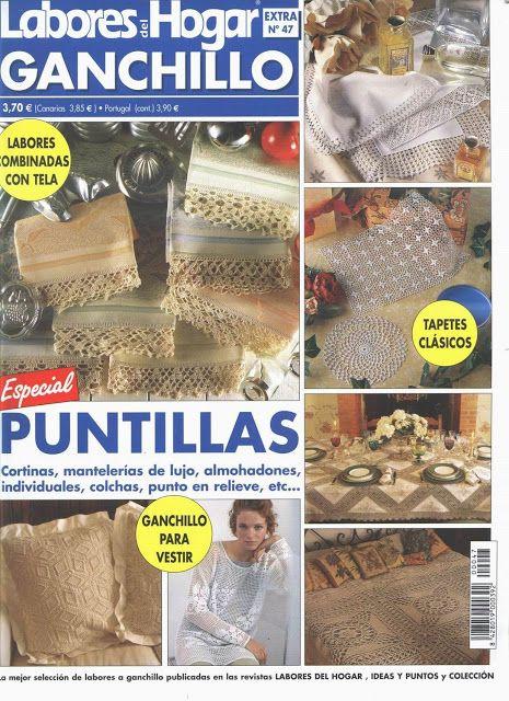 labores del hogar 47 - Yadira martínez - Picasa Web Albums #crochetmagazine