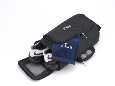 golf shoe bag: Sports Gifts, Bowls Shoes, Christmas Gifts Ideas, Groomsman Gifts, Golf Shoes, Personalized Golf, Shoes Bags, Personalized Shoes, Golf Bags