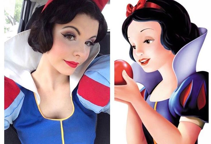 Amber Arden - Side by side Snow White reference picture