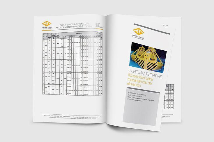 Catálogo técnico   Miguel Abad