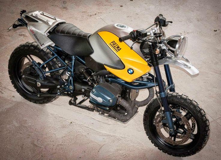 BMW R1150 SCRAMBLER - PRIMA MOTOCICLETTE - OTTONERO