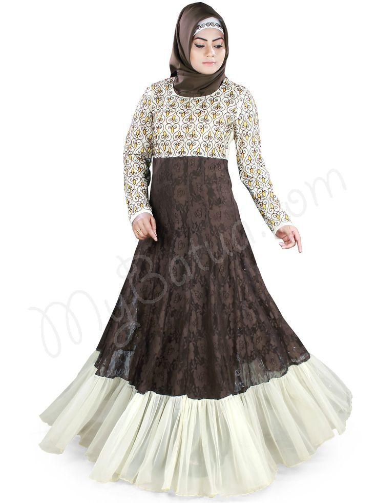 Shabnam Abaya | MyBatua | http://www.mybatua.com/womens/abaya-1?dir=asc&order=price