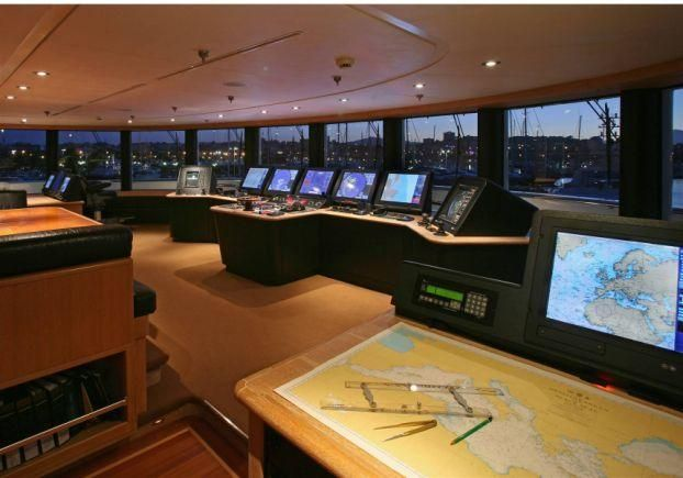 tatoosh yacht interior | Take a Look in Paul Allen's $160 Million Yacht