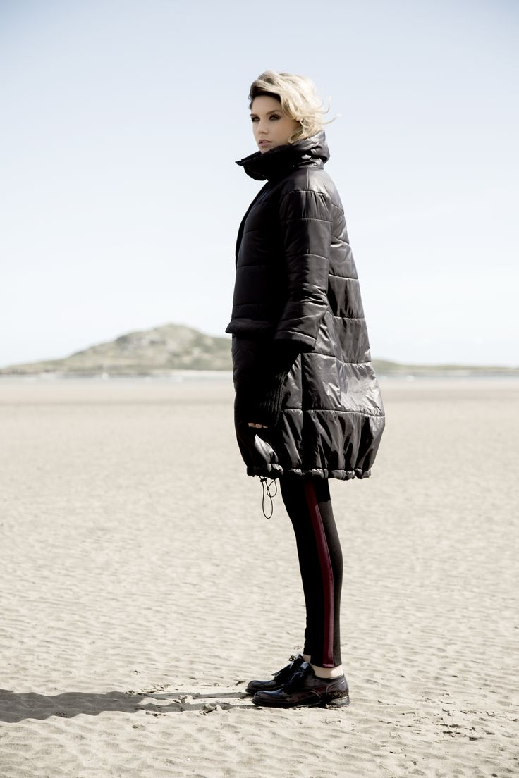 Padded, oversized coat by Carolyn Donnelly The Edit