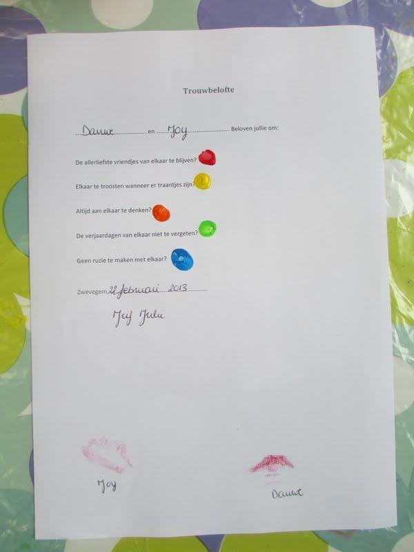 Mijn peuterklasje: Afsluiter thema 'Raad eens hoeveel ik van je hou?'