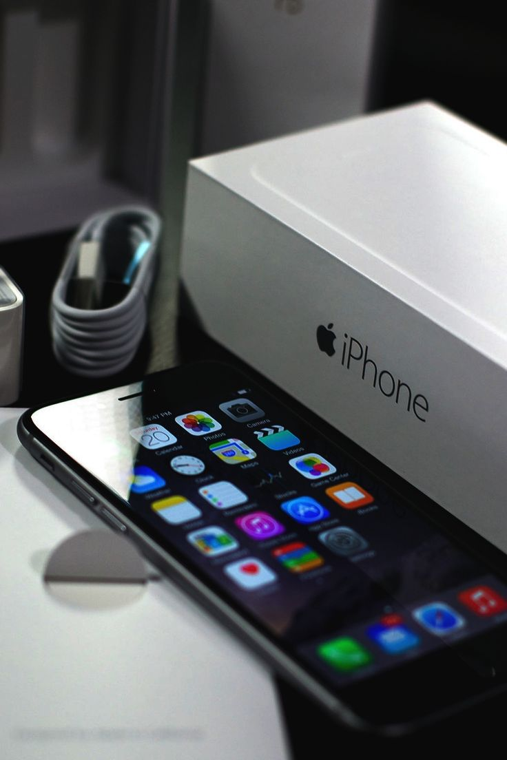 iPhone 6 - IPhones are powerful tools to connect, organize, and brainstorm.