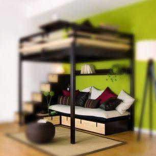 Play with Brick units to design a capacious sofa