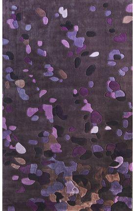 Keno Dots Purple Rug | Contemporary Rugs