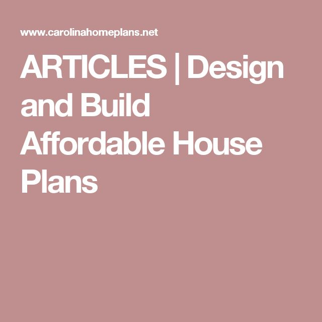 top 25+ best affordable house plans ideas on pinterest | house