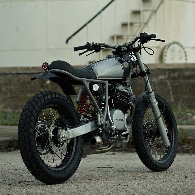 Honda XR600 custom motorcycle by CRD  Clean and simple.