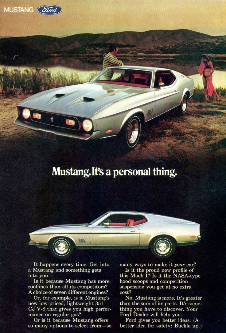 Ford Mustang Ad