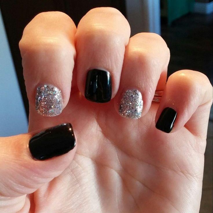 Silver And Black Gel Nail Polish - 20 Best Top Gel Nail Polish Images On Pinterest Nail Polish