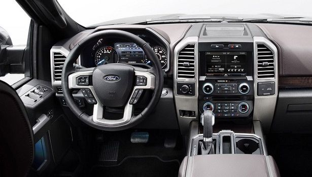 New 2016 Ford Raptor Interior View