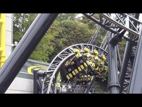 The Smiler Offride HD Alton Towers Resort