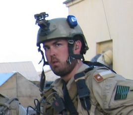 Petty Officer First Class Marcus Luttrell was born in Huntsville, Texas in 1975.  Luttrell and three teammates from SEAL Team TEN were assigned to a reconnaissance mission, operation RED WING, in the Hindu-Kush mountain region of Afghanistan. Their objective was to gather intelligence on Taliban movement in the area. Luttrell's team was eventually discovered and outnumbered by over 200 Taliban fighters. Petty Officer Luttrell was the only to survive enemy contact.