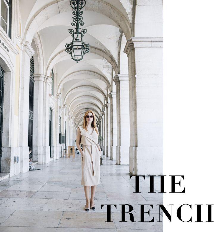 Como usar o Trench como Vestido / How to wear the Trench as dress