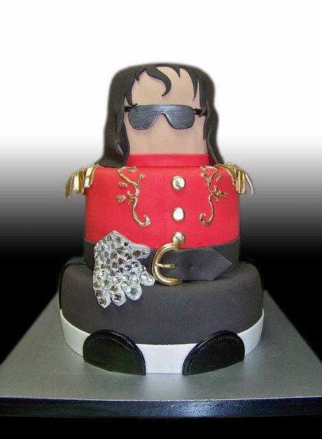 Michael Jackson Birthday Cake Designs
