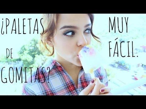 ¡PALETAS DE GOMITAS! :D  #YUYA