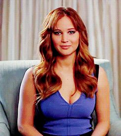 jennifer lawrence gifs | 23 Jennifer Lawrence Reaction GIFs That Perfectly Describes Your ...