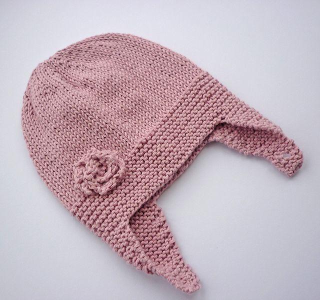 Baby Earflap Hat Knitting Pattern Gallery Knitting Patterns Free