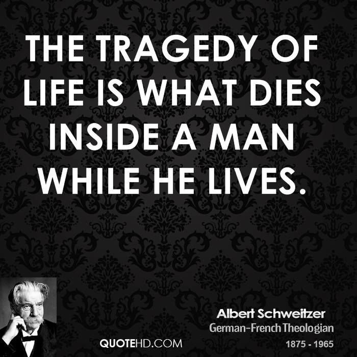 Albert Schweitzer Quote shared from www.quotehd.com