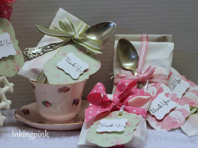 Bridal Tea Shower Favors