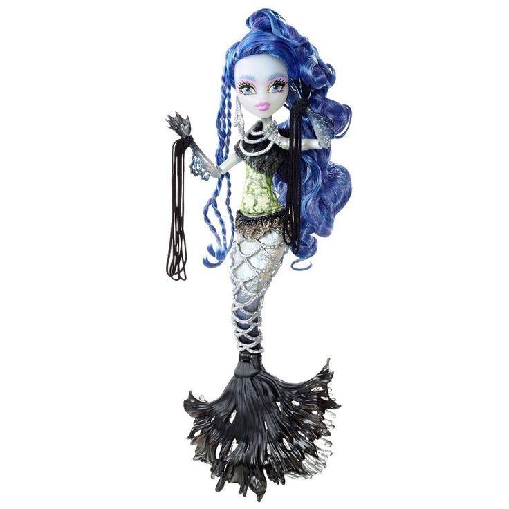 Кукла Монстр Хай - Сирена вон Бу из серии Монстрические Мутации - новинка школы Монстер Хай. В оригинале - Sirena von Boo Freaky Fusion. Можно купить в нашем интернет-магазине.