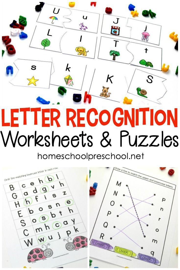 Free Printable Alphabet Worksheets For Preschoolers Letter Recognition Worksheets Alphabet Worksheets Free Letter Recognition