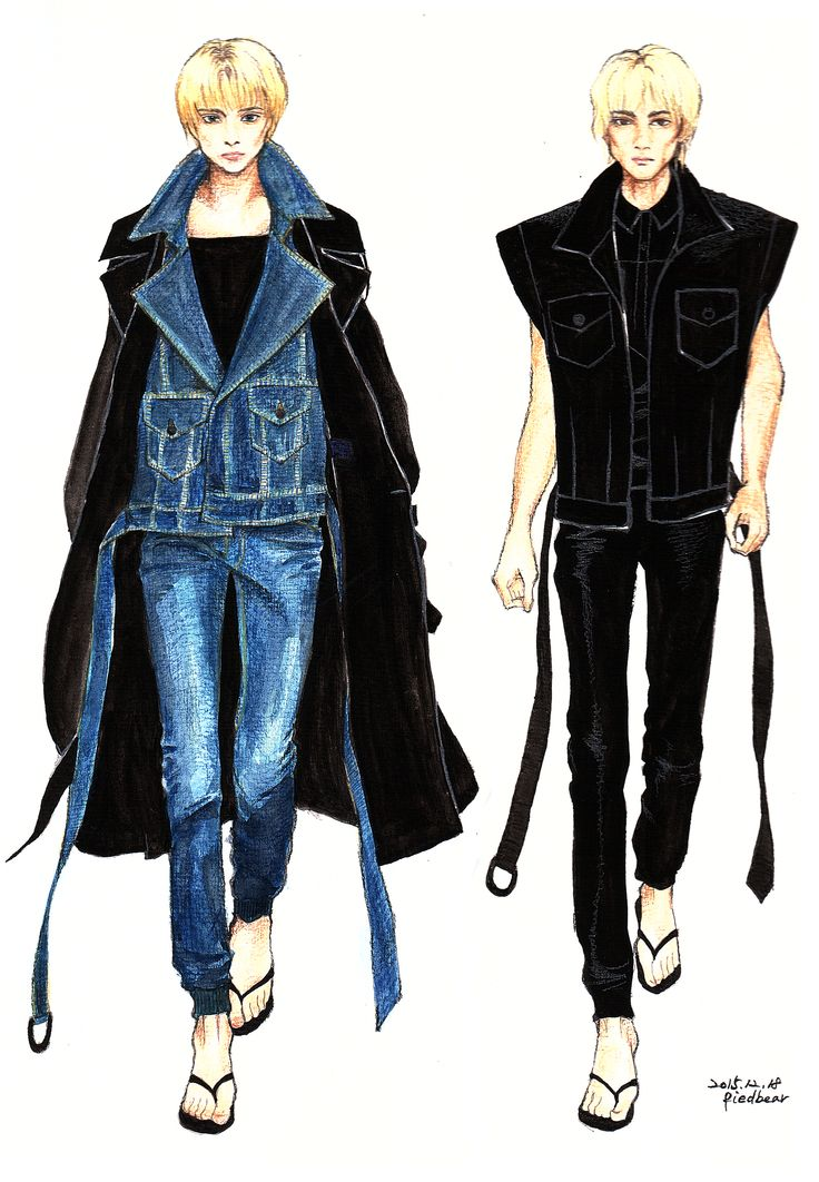 2016 S/S Juun.J #fashion #fashionillustration #fashiondrawing #fashionsketch #readytowear #fashiondesign #pariscollection #juunj