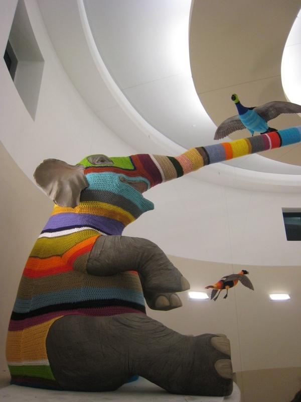 Elaine Bradford-crochet-artist extraordinaire. bio here: http://elainebradford.weebly.com/resume.html See her two headed ram on my fiber board#1 http://pinterest.com/pin/47217496065176372/