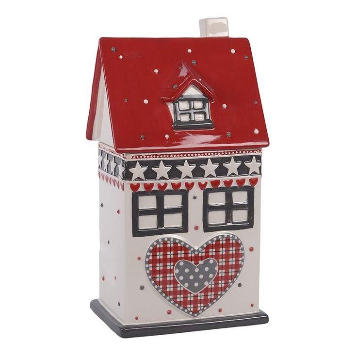 Ceramic Christmas Biscuit Jar - Porcelain - Ceramic - Christmas - SEASONAL