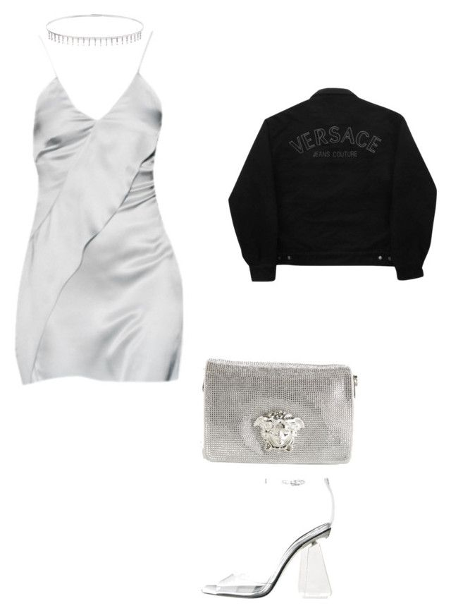 """""""Medusa"""" by dayseanna ❤ liked on Polyvore featuring Versace, Suzanne Kalan and Versace Jeans Couture"""