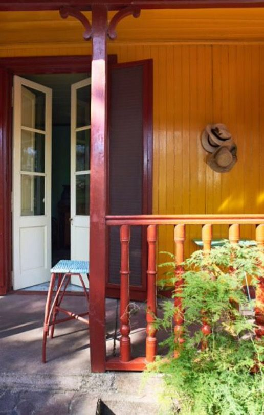 """This inviting front door is from our feature """"Life is a Beach"""""""