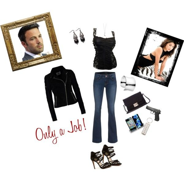 """Only a Job"" by darksoul29 on Polyvore"