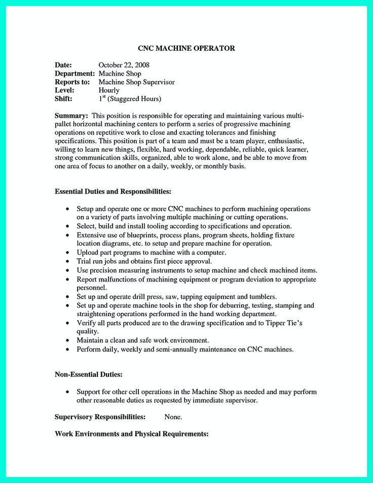 best 25 cnc machinist ideas on pinterest cnc cnc programming cnc machinist resume