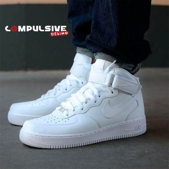 Tenis Zapatillas Nike Force One Bota | Zapatillas nike ...