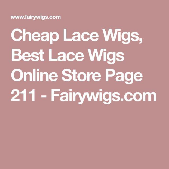 Cheap Lace Wigs, Best Lace Wigs Online Store Page 211 - Fairywigs.com