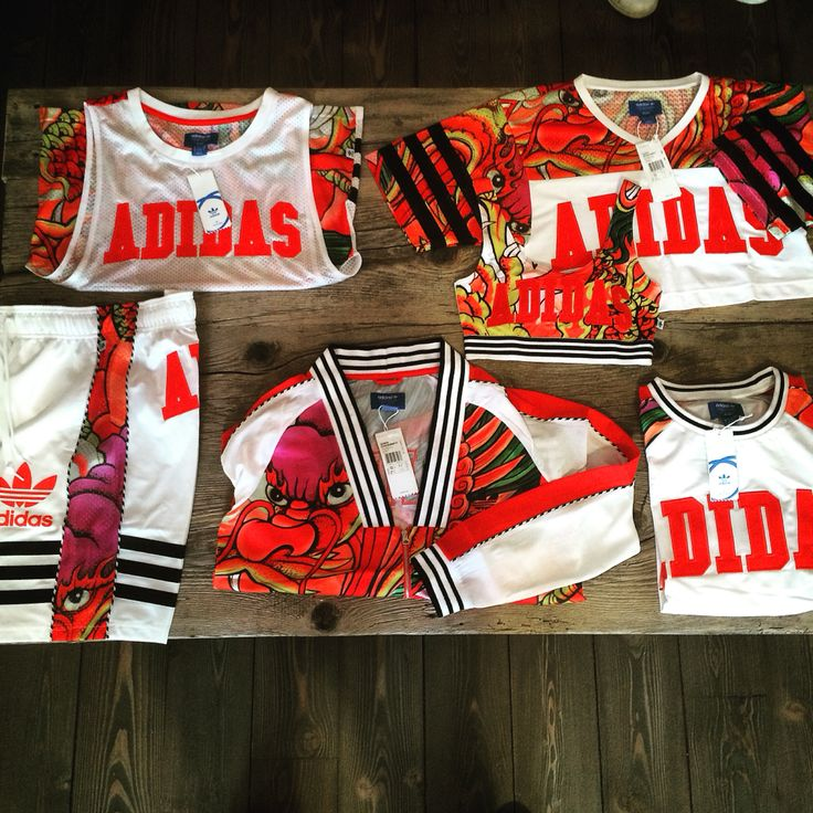 Rita Ora collection by Adidas Originals Dragon Print theme all availavble on www.shoelosophy.it