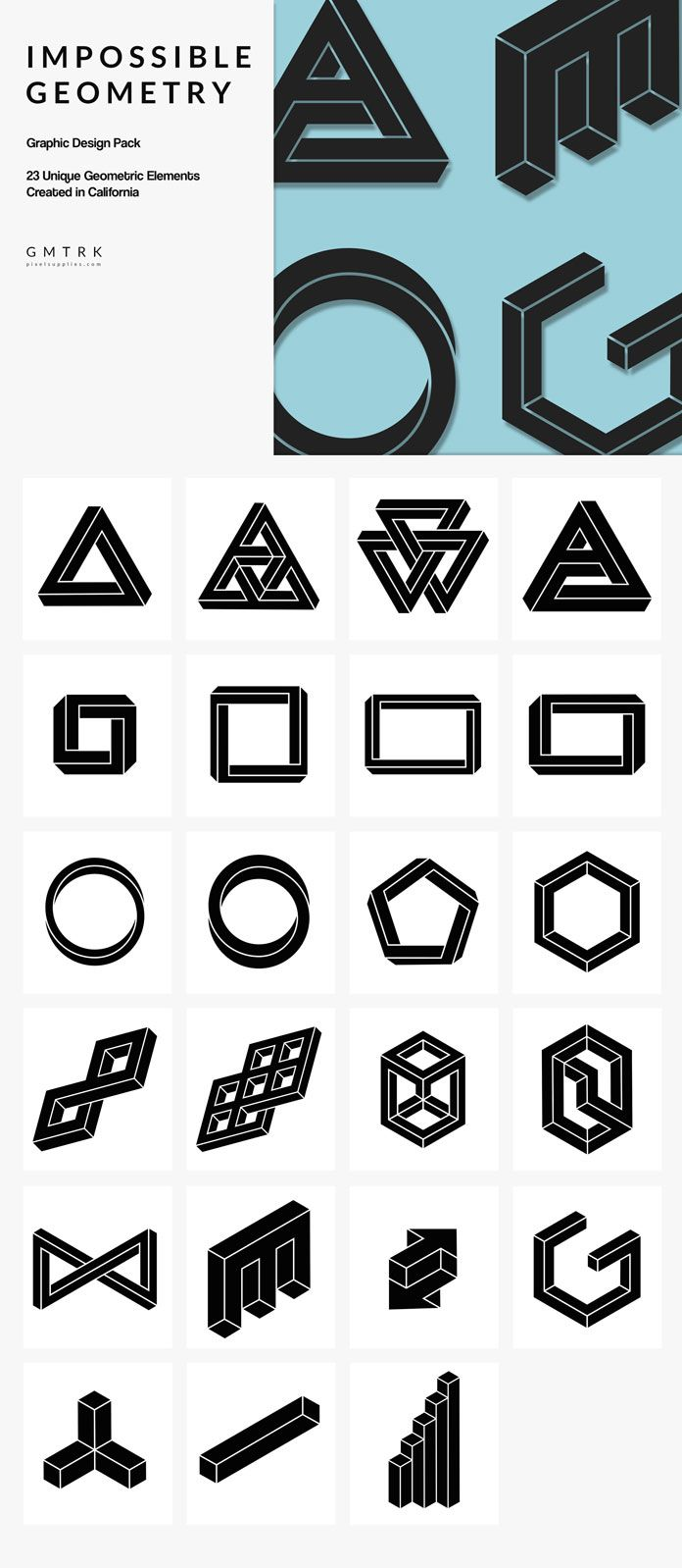 Randy orton tattoos celebritiestattooed com - Impossible Geometry 23 Surreal Geometric Object