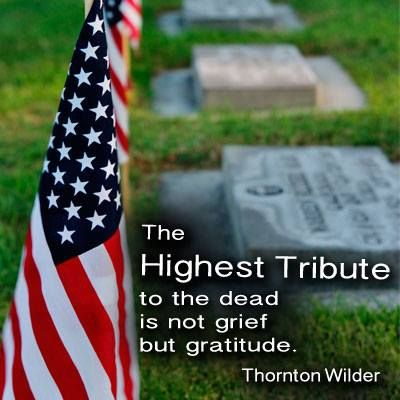"""From FamilySearch on Facebook. """"The Highest Tribute to the dead is not grief but gratitude."""" -Thornton Wilder.  #lds #mormon #genealogy  https://www.facebook.com/familysearch"""