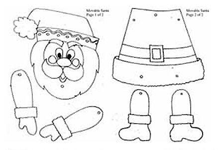 Desenhos para recortar papai noel natal pinterest - Trabajos manuales de navidad para ninos de primaria ...