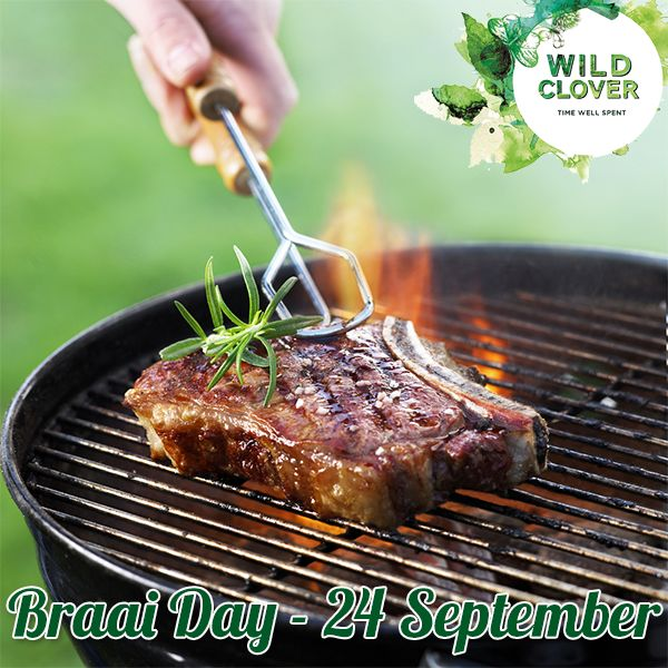 Come join us at Wild Clover on the 24 September for Braaiday. #Braaiday #WildClover