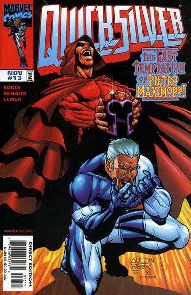 Quicksilver comic volume 113