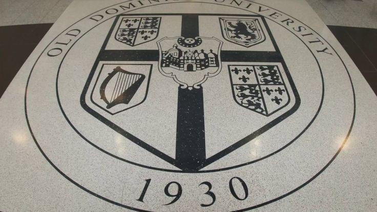 """Narrating History with Terrazzo Logos"" - Old Dominion University   Doyle Dickerson Terrazzo #history #terrazzo"