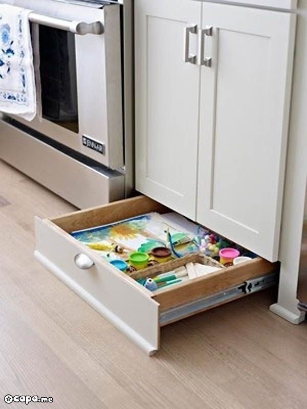 Its Just So Clever Storage For Tiny And Small Kitchen Under Cupboard Drawers Ideas Pinterest Home