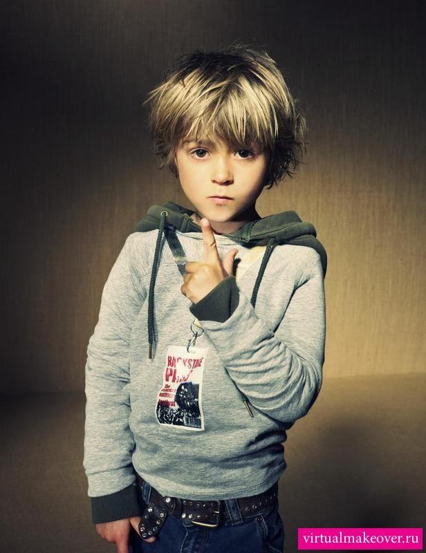 Модные стрижки для мальчиков - фото