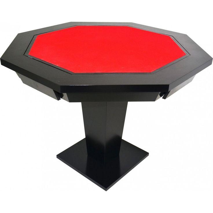 Mesa de Poker e Xadrez - Oitavada - Cód. ELT6201 - Esportes Express