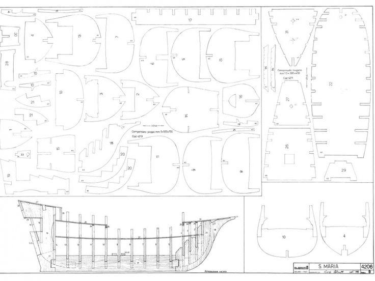 modelismo naval - construcción de la Santa María - Taringa!