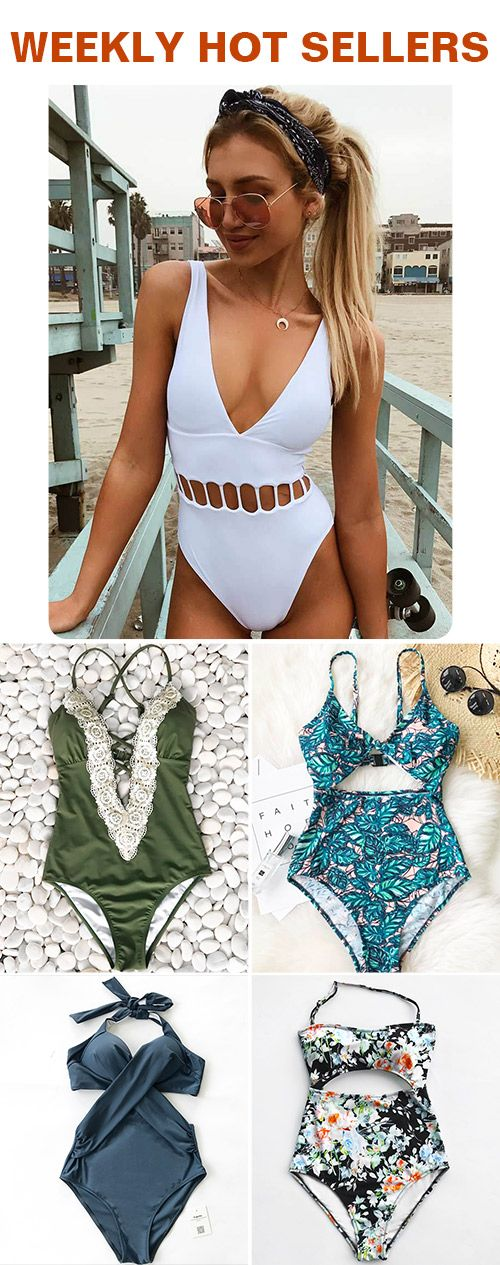 No matter where you're planning on spending beach vacation, make some serious waves with the weekly hottest bathing suits from Cupshe. Discover everything from one pieces to high-waisted bikinis, halters, tanks and so much more. FREE shipping. SHOP NOW.