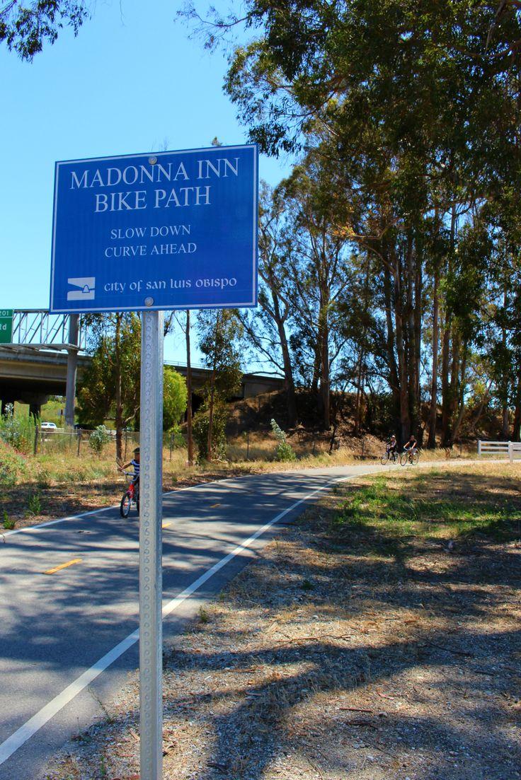 Madonna fashion show san luis obispo - Madonna Inn S Bike Path Connecting The Laguna Lake Area With Downtown San Luis Obispo